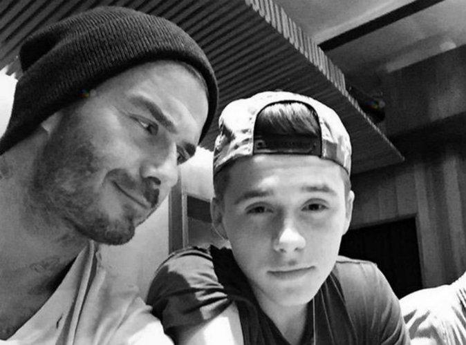 """David Beckham sur la cote de son fils : """"c'est plus simple pour moi que pour Victoria"""""""