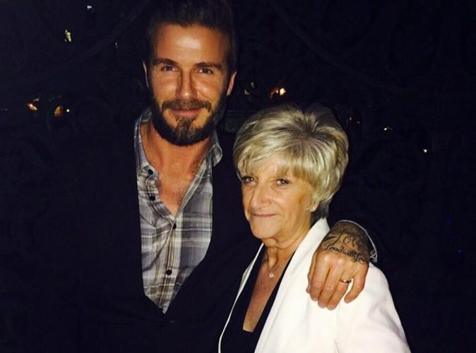David Beckham : trop chou, il rend hommage à sa mère !