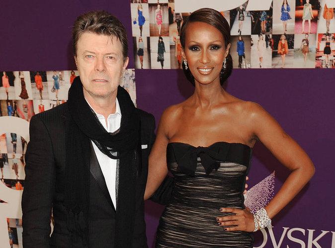 David Bowie : les émouvantes confidences de sa femme Iman, juste avant sa mort