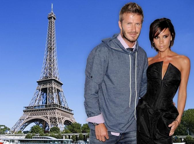 David et Victoria Beckham devraient venir s'installer à Paris...
