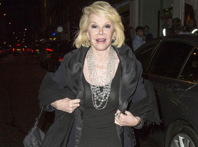 Décès de Joan Rivers : elle aura le droit à un tapis rouge pour ses funérailles...