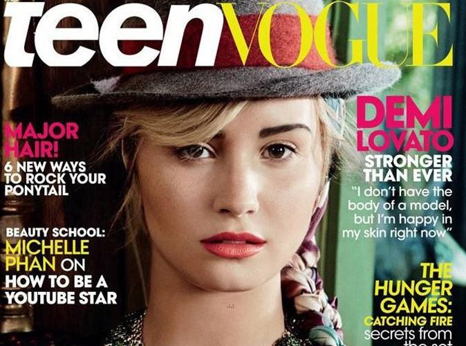 """Demi Lovato : """"Je ne vais pas sacrifier ma santé mentale pour avoir un corps parfait"""" !"""