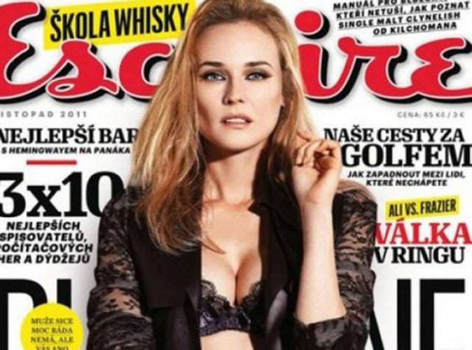 Diane Kruger : terriblement sulfureuse en lingerie !