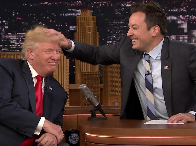 Donald Trump : complètement décoiffé à la télé américaine, il fait le show !