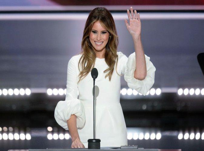 Donald Trump : sa femme Melania entièrement nue dans un journal américain!