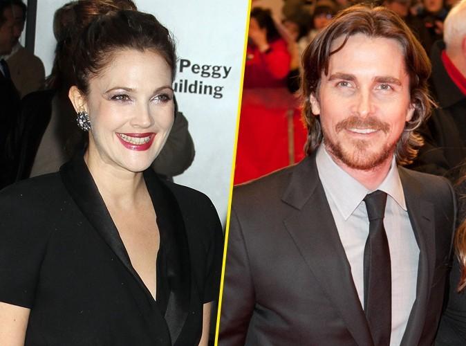 Drew Barrymore : elle a largué Christian Bale après un seul rendez-vous !
