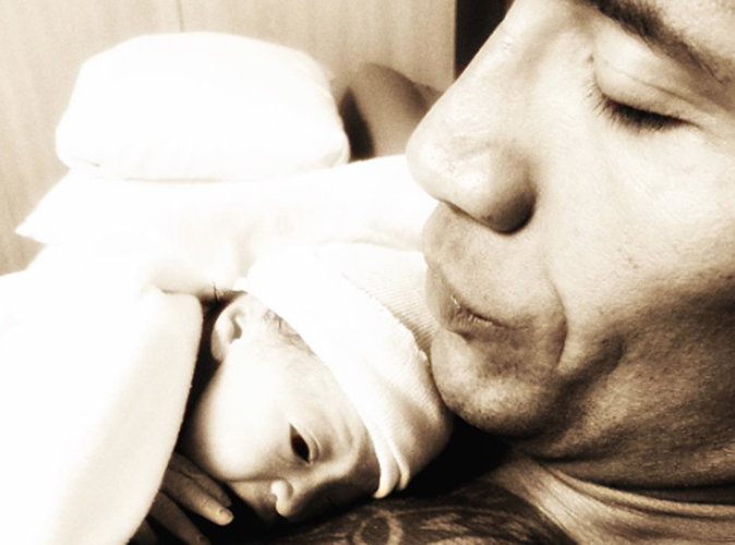 Dwayne Johnson dévoile la première photo de Jasmine, sa fille !