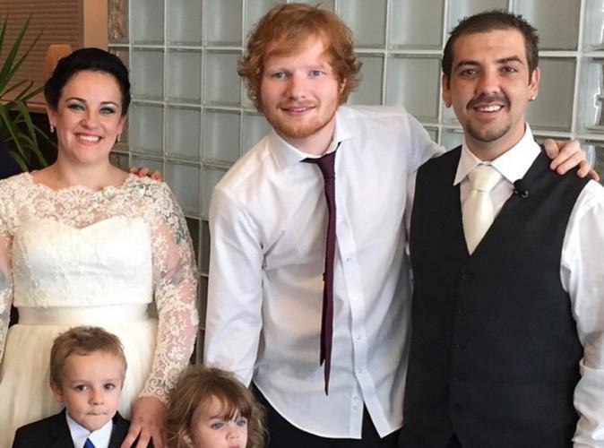 Ed Sheeran : émotion garantie quand il s'incruste à un mariage en Australie (vidéo) !