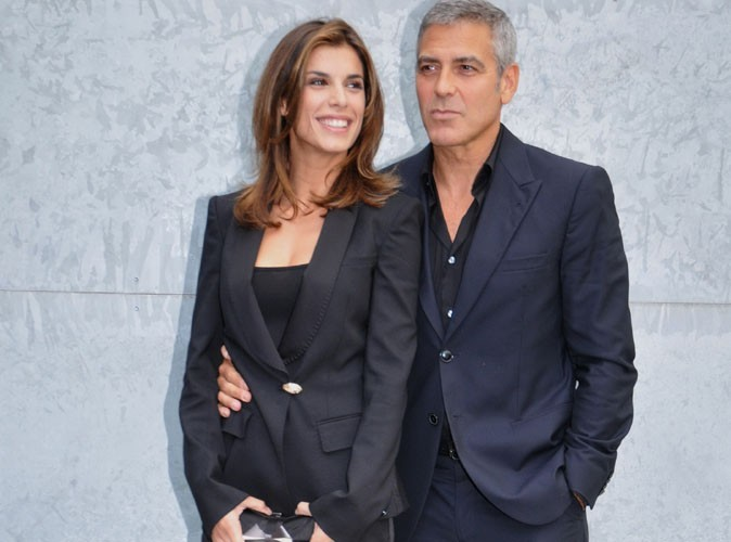 """Elisabetta Canalis : """"Entre George (Clooney) et moi, c'était plus une relation père-fille"""""""