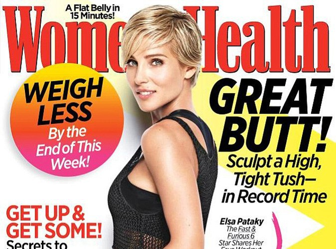 Elsa Pataky dévoile son corps de rêve en couverture du magazine Women Health !