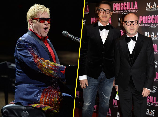 Elton John : après la polémique, il déclare sa flamme à Dolce & Gabbana !