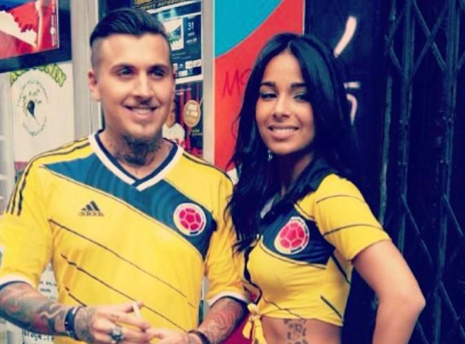 Emilia et Alexandre (Les Princes) : radieux et amoureux, les deux tourtereaux se mettent aux couleurs du Brésil !