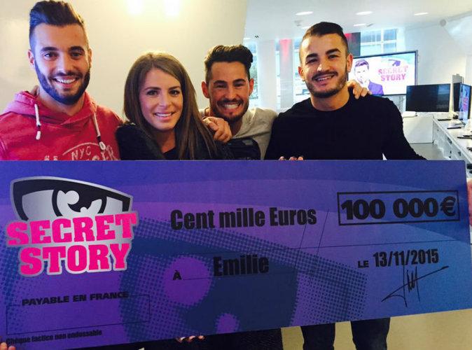 Emilie (Secret Story 9) : TF1 lui remet enfin son chèque