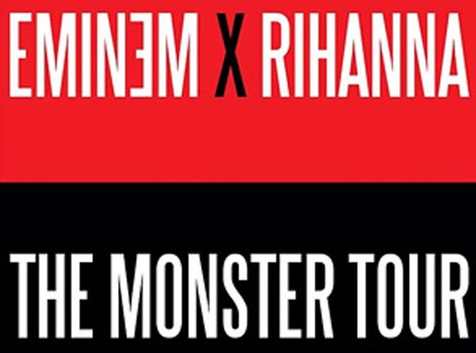 """Eminem et Rihanna : toutes les dates de leur tournée """"The Monster Tour"""" enfin dévoilées !"""