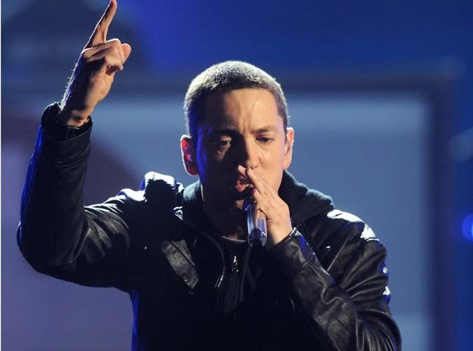 Eminem plus fort que la reine Lady Gaga !