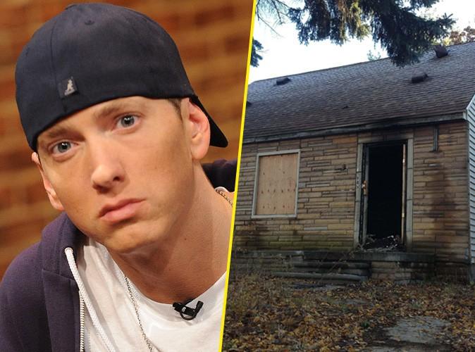 eminem sa maison d 39 enfance ravag e par les flammes. Black Bedroom Furniture Sets. Home Design Ideas