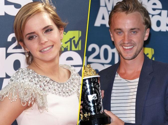 """Emma Watson : """"Je craquais pour Tom Felton dans les deux premiers Harry Potter"""" !"""