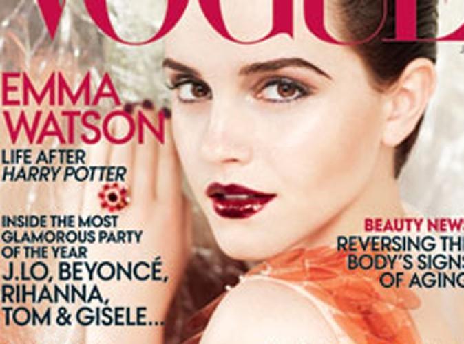 Emma Watson : la magicienne s'habille en Prada !