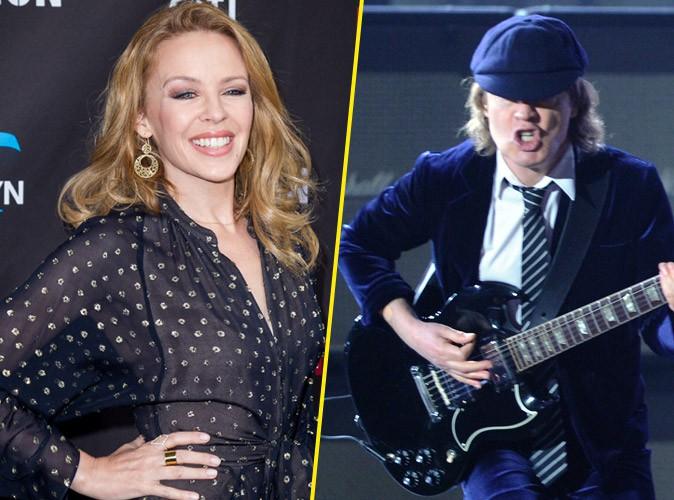 Eurovision 2015 : Kylie Minogue ou AC/DC pour représenter... l'Australie !