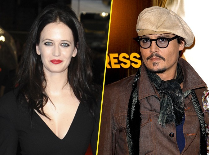 Eva Green : elle dément sortir avec Johnny Depp !