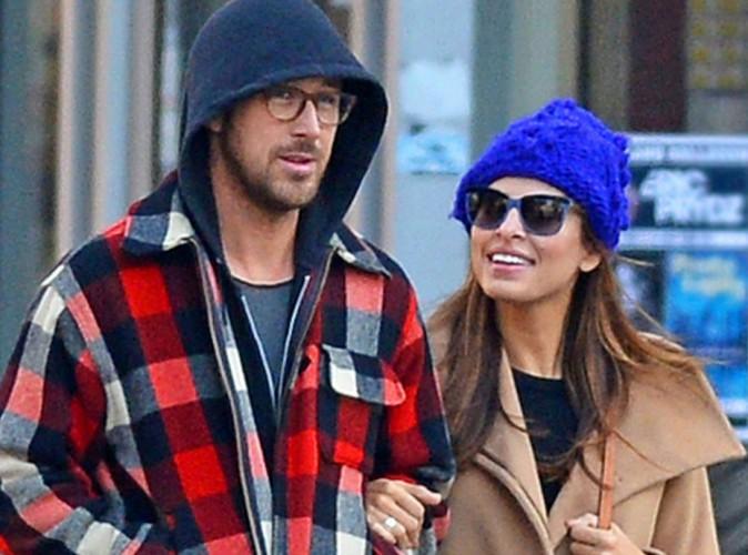 Eva Mendes et Ryan Gosling : le couple attendrait un petit garçon !