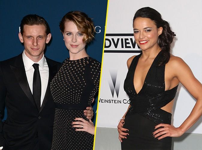 Evan Rachel Wood : en col�re, elle d�ment avoir flirt� avec Michelle Rodriguez !