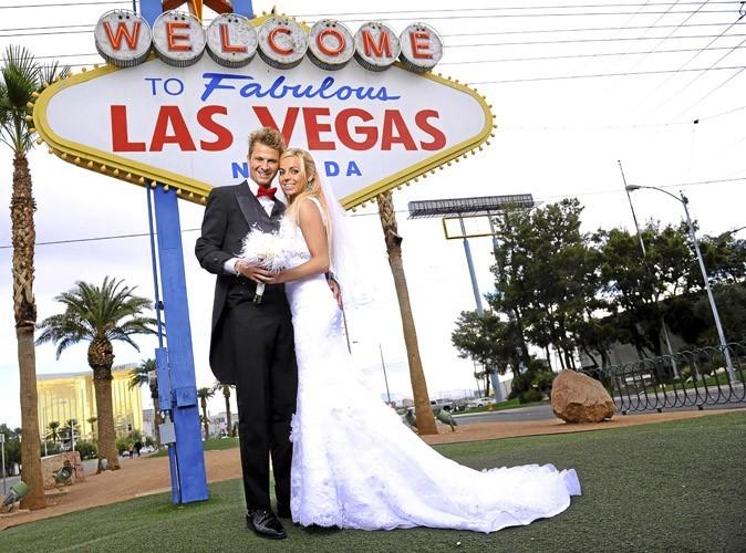 exclu public hillary et vincent les chtis - Mariage Las Vegas Tout Compris