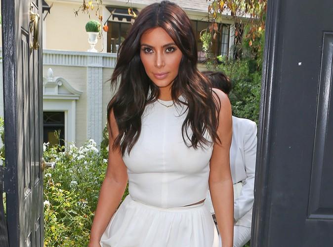 Exclu Public : Kim Kardashian : on sait (enfin) quel créateur elle a choisi pour sa robe de mariée !