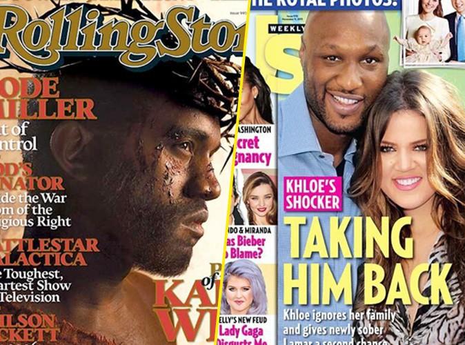 Famille Kardashian : cachés, Kanye West et Lamar Odom apparaissent bel et bien sur les cartes de voeux !
