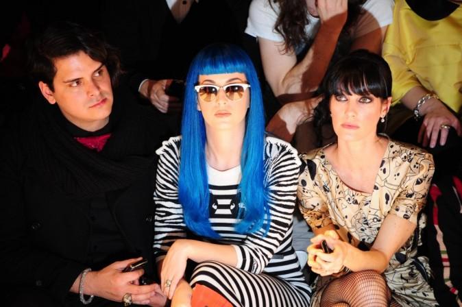 Katy Perry et Mareva Galenter au défilé Jean-Charles de Castelbajac
