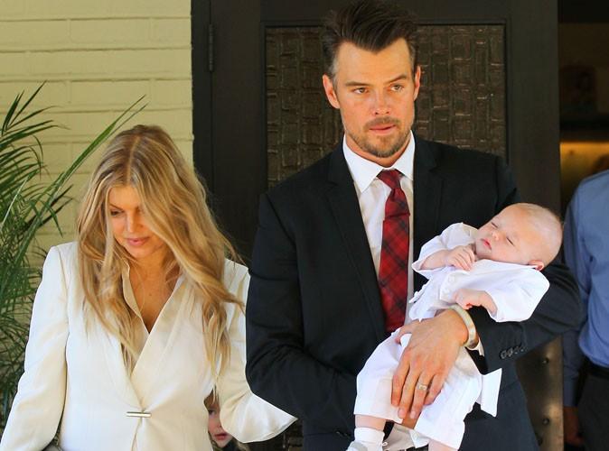 Fergie et Josh Duhamel : ils ont baptisé leur fils Axl !