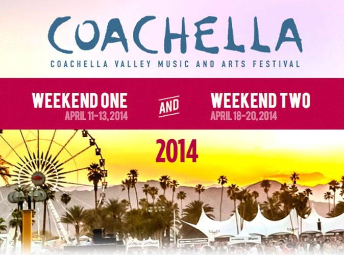 Festival de Coachella 2014 : la programmation complète dévoilée : OutKast, Ellie Goulding, Calvin Harris, Carbon Airways, et bien d'autres...