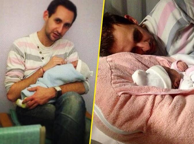 Florent (La Belle et ses princes 2) : heureux papa, il nous présente sa fille !