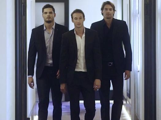 """Florent Manaudou, Camille Lacourt et Fabien Gilot la jouent """"Very Bad Trip"""" pour Andros !"""