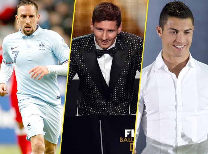 Franck Ribéry : toujours en lice pour décrocher le Ballon d'Or 2013, face à Lionel Messi et Cristiano Ronaldo !