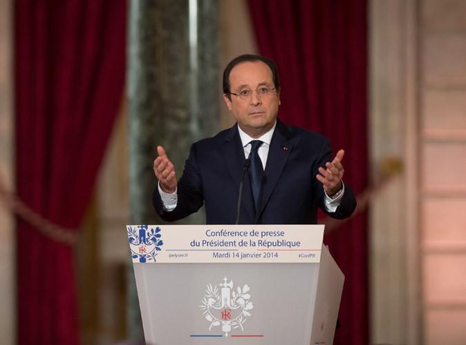 François Hollande : après la conférence de presse du Président, Twitter plaint Valérie Trierweiler !