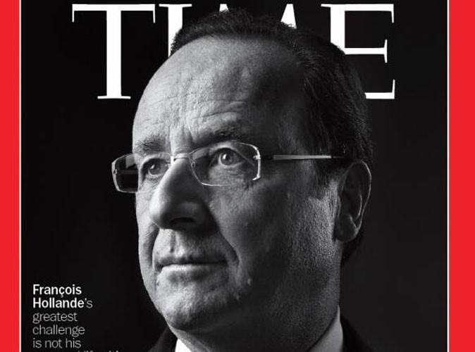 """François Hollande : il s'offre la une du Time Magazine et reprend le célèbre slogan de Barack Obama en déclarant """"Yes, we can faster"""" !"""