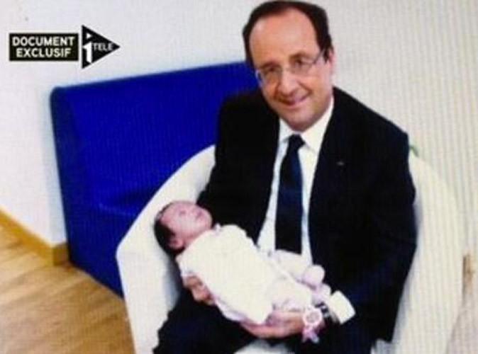 François Hollande : photographié avec un bébé dans les bras, le président fait le buzz !