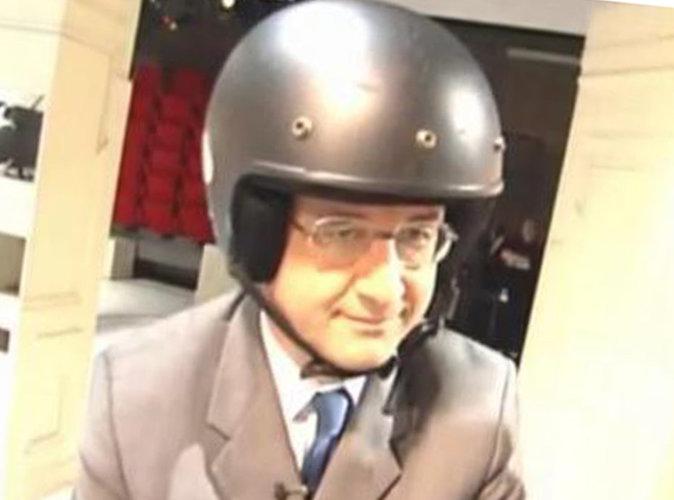 François Hollande sur un scooter, on a la vidéo !
