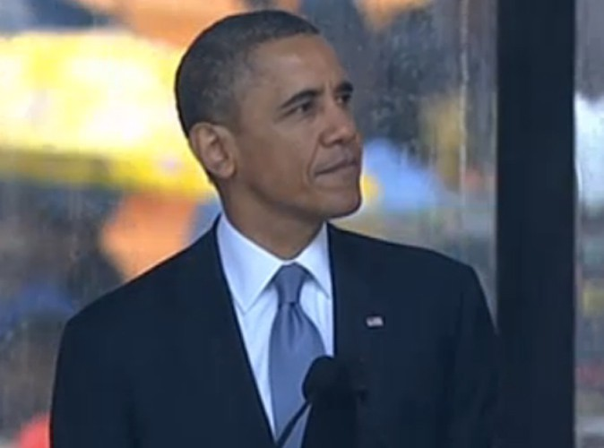 Funérailles de Nelson Mandela : découvrez l'intégralité du discours poignant de Barack Obama !