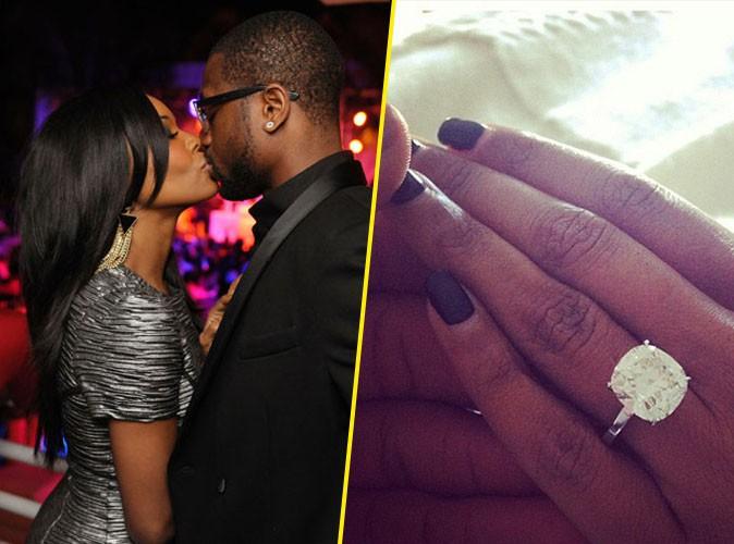 Gabrielle Union : l'actrice américaine s'est fiancée au célèbre basketteur des Miami Heat, Dwyane Wade !
