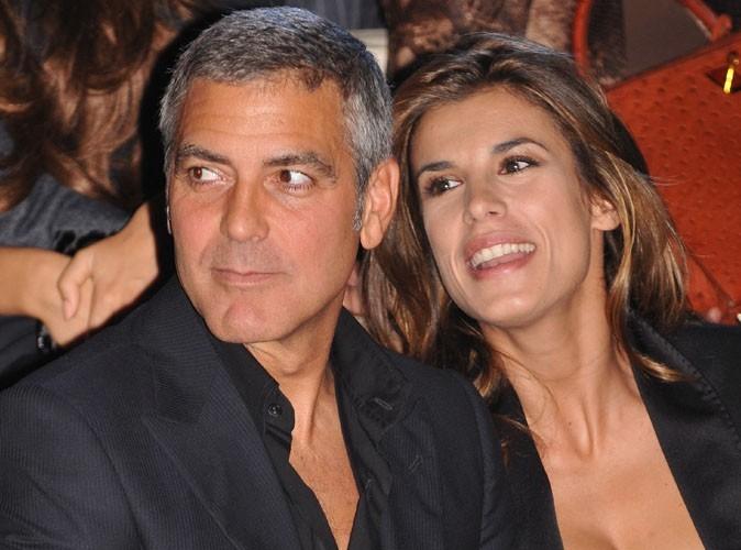 George Clooney : il fête ses cinquante ans au restaurant avec Elizabetta Canalis !