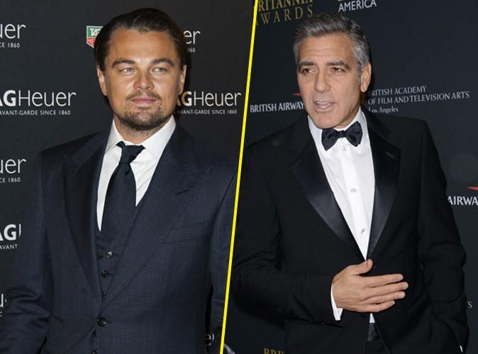 George Clooney : il s'en prend à Leonardo DiCaprio et Russell Crowe !