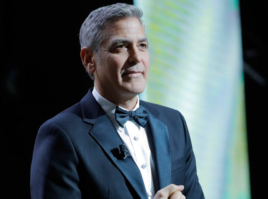 George Clooney parle de ses jumeaux :