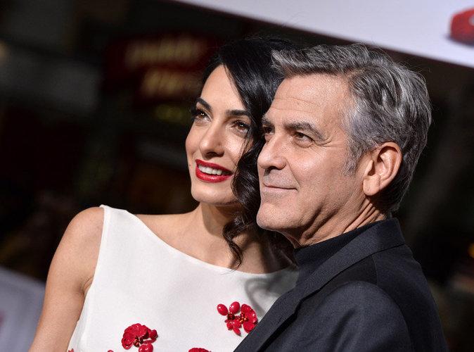 George Clooney raconte son hilarante demande en mariage à Amal