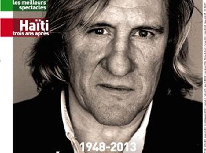Gérard Depardieu enterré en une des Inrocks : ce que Twitter en pense !