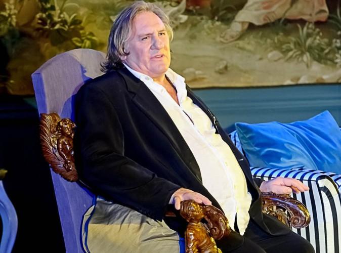 Gérard Depardieu : ivre sur scène, sa prestation écourtée !