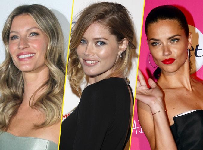Gisele Bündchen, Doutzen Kroes et Adriana Lima : elles sont les top-models les mieux payées de l'année !