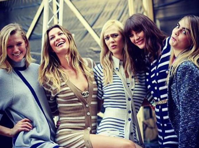 Gisele Bündchen et Toni Garrn : l'ex et la girlfriend de Leonardo DiCaprio en mode BFF chez Chanel !