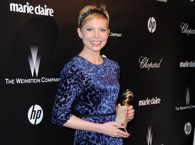 Golden Globes 2012 : Michelle Williams dédie son prix à sa fille Matilda Ledger !